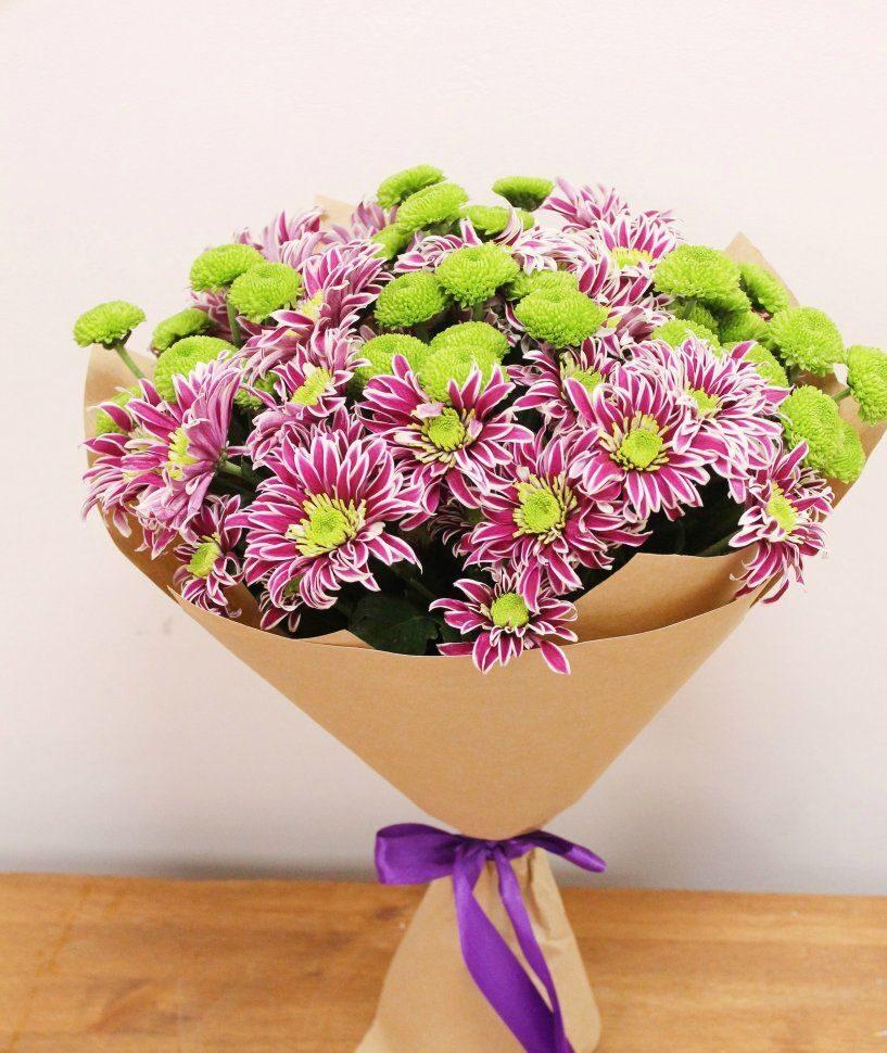 хризантема букет на праздники фото появляется